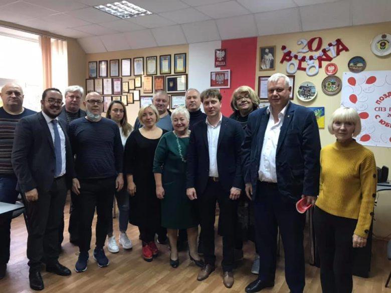 Встреча СПЗ Полония с представителями ЗОГА