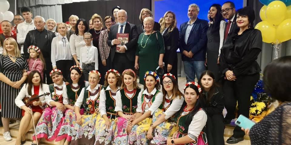 Отметили 15 годовщину Полонии Мелитополя