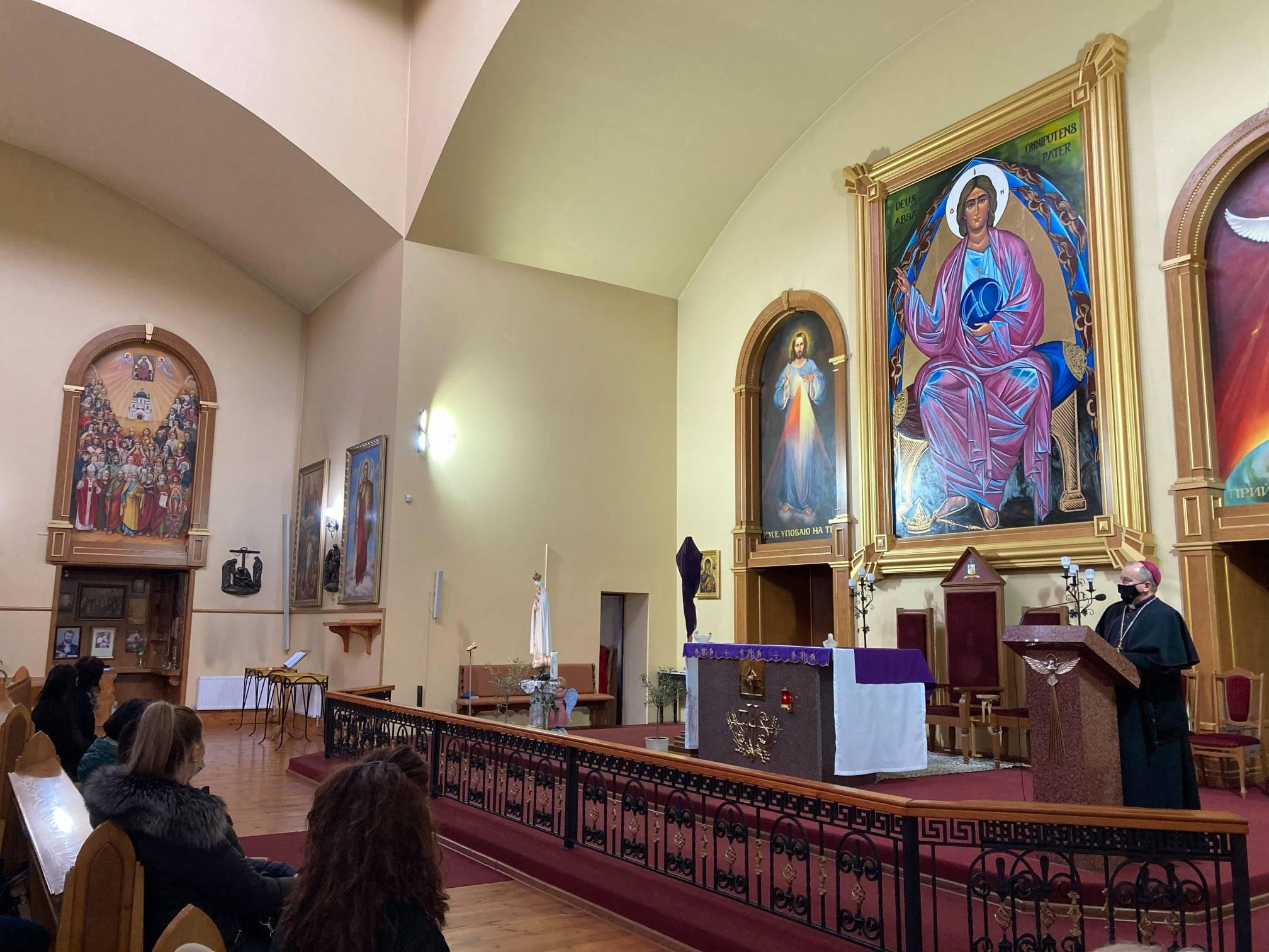 Встреча с епископом Яном Собило в Храме Бога Отца Милосердного