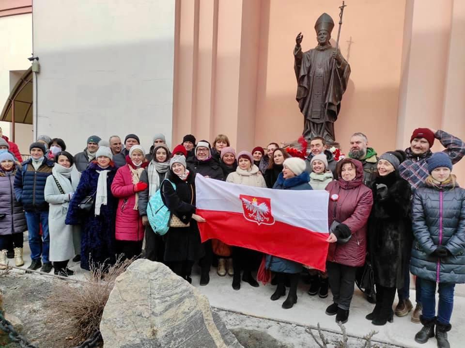 Открытие памятников св. Яну Павлу 2 и Феликсу Мовчановскому